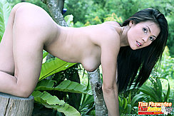 On All Fours Nude Nice Ass Raised Long Hair Hanging Down