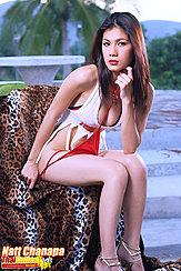 Seated Removing Panties Wearing High Heels Showing Cleavage